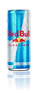 Red Bull Energy Drink, Sugarfree, 8.4 Ounce Can (Pack of 24)