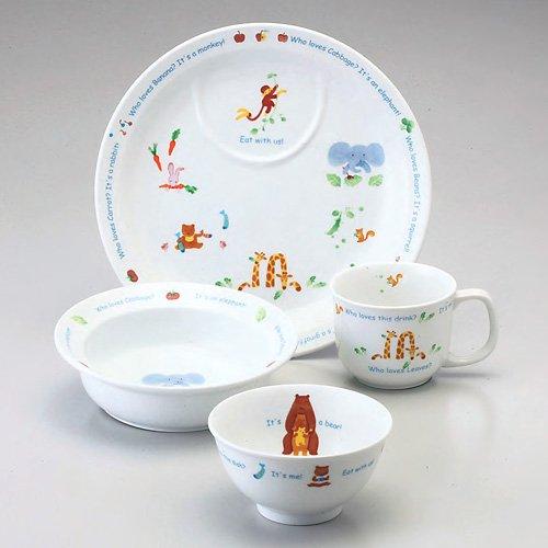 ナルミ・子供食器みんなでたべよっ!・幼児セット(40433-33139)