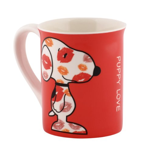 Department 56 Peanuts Mug, 4.5-Inch, Puppy Love