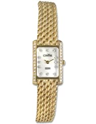 Buy Cheap Condor 14kt Solid Gold & Diamond Womens Luxury Swiss Watch MOP Dial 14k USA Sale
