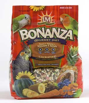 Cheap LM Animal Farms Bonanza Gourmet Diet Cockatiel and  Bird Food (B00065Z630)