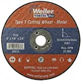 Weiler 804-56272 4 Inch X 1-16 Inch Type 1 Cut-Off Wheel A60T