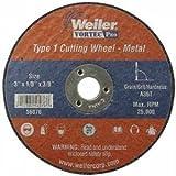 Weiler 804-56272 4 Inch X 1-16 Inch Type 1 Cut-Off Wheel A60T