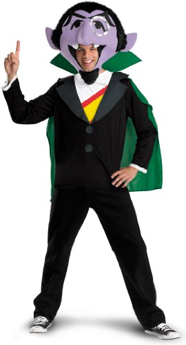 The Count (Dracula) Adult Sesame Street Costume - Standard Size
