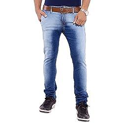 URBAN FAITH Casual Blue Denim Jeans