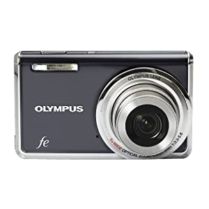 Olympus FE-5020 12MP Digital Camera with 5x Wide Angle Optical Zoom and 2.7 inch LCD (Dark Grey)