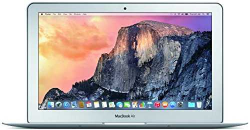 Apple MacBook Air MJVM2LL/A 11.6-Inch laptop(1.6 GHz Intel i5, 128 GB SSD, Integrated Intel HD Graphics 6000, Mac OS X...