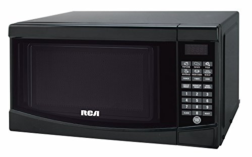 RCA RMW733-BLACK Microwave Oven, 0.7 cu. ft., Black (Small Microwave Ovens Countertop compare prices)