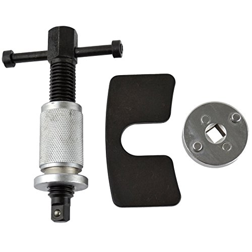 Brake Calliper / Calliper Wind Back rewind tool left hand with backing plate AT153