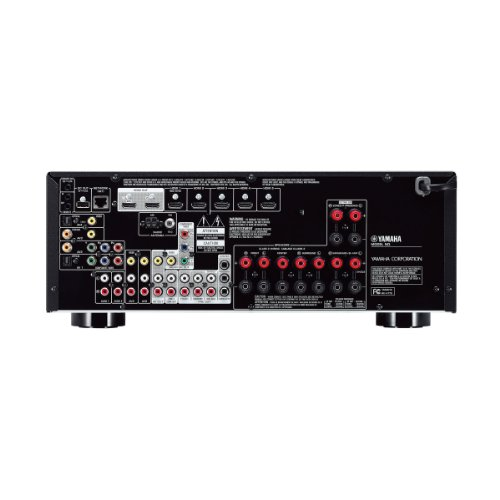 Yamaha rx v775wa 7 2 channel network av receiver with for Yamaha receiver firmware update 2017