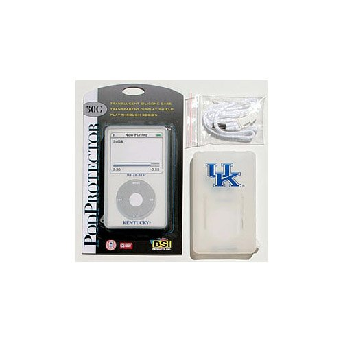 Kentucky Wildcats Official NCAA Media Player Case fits iPod by BSI Products 340109 football forever football hits