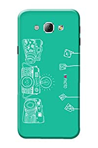 Samsung A8 Back Cover, Premium Quality Designer Printed 3D Lightweight Slim Matte Finish Hard Case Back Cover for Samsung Galaxy A8 by Tamah
