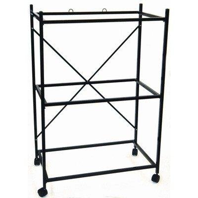 Cheap Three Shelf Stand for Medium Bird Breeding Cage Color: Black (4164BLK)