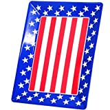 "16"" Patriotic Food Tray"