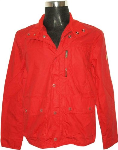 New Mens Firetrap Rumours Full Zip Red Jacket Size M FP4