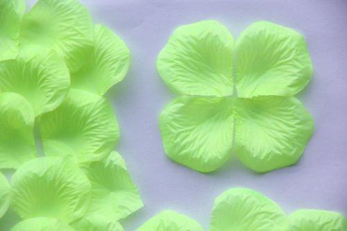 Vert fleur 100 Pétale Rose Soie Mariage Table Confetti