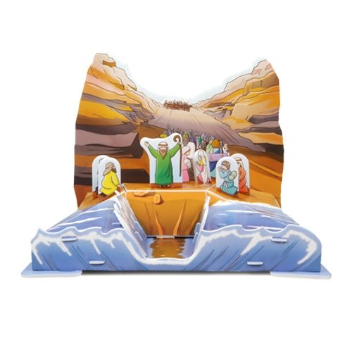 Jigsaw 3D Puzzle - Moses & Exodus, The Crossing of the Red Sea