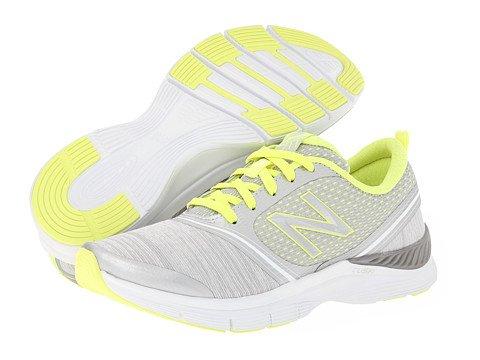 888098214116 - New Balance Women's 711 Heather Cross-Training Shoe,Grey/Yellow,11 B US carousel main 7