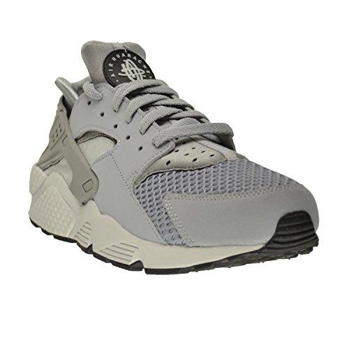huge discount db448 66013 Nike Air Huarache Men s Shoes Wolf Grey Pure Platinum-Black-White  318429-014 (8 D(M) US)