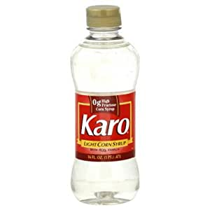 Karo red label light syrup 16 ounce each for Cuisine karo