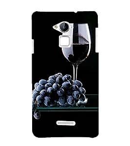 99Sublimation Wine at Dine 3D Hard Polycarbonate Designer Back Case Cover for Coolpad Note 3