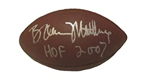 Bruce Matthews Autographed Signed NFL Wilson Composite Football Featuring HOF 2007... by Southwestconnection-Memorabilia