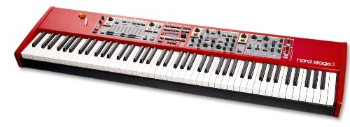 Nord Stage 2 SW73, 73-Key Semi-Weighted Waterfall Keyboard Digital Stage Piano