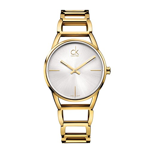 Calvin Klein Para mujer relojes K3G23526 dorado señorial reloj de mujer