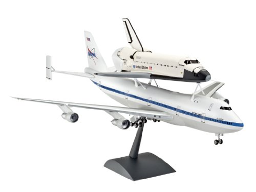1:144 Scale Space Shuttle And Boeing 747 Rg4863 04863 By Revell