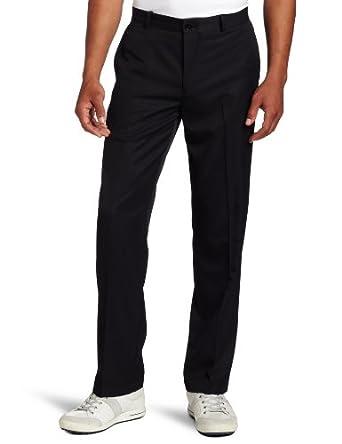Dockers Men's Golf Microfiber Pant, Black, 33x30