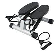 Twisting Stair Stepper with Bands
