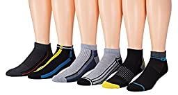 James Fiallo Mens 12-pack Low Cut Athletic Socks, Size 10-13 Fits shoe 6-12, 2897-12