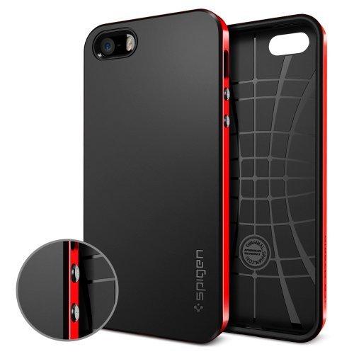 国内正規品SPIGEN SGP iPhone5/5S ケース ネオ・ハイブリッド [ダンテ・レッド]SGP10363