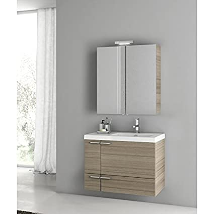 ACF 31 Inch Larch Canapa Bathroom Vanity Set ANS306