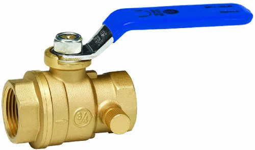 Port Ball Valve with Drain