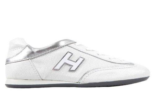 Hogan scarpe sneakers donna in pelle olympia