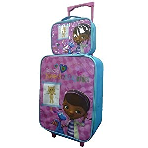 Disney Childrens Kids Boys Girls Cabin Trolley Case Set Wheeled Bag Suitcase Hand Luggage by DISNEY