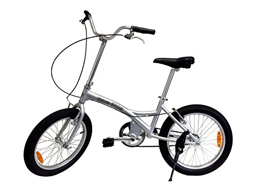 "Glide Bikes 20"" Super Glider, Balance /Pedal Bike, Silver front-153999"