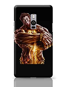 PosterGuy The Mighty Hanuman | Symbol of Strength Graphic Art Sketch OnePlus Two Cover