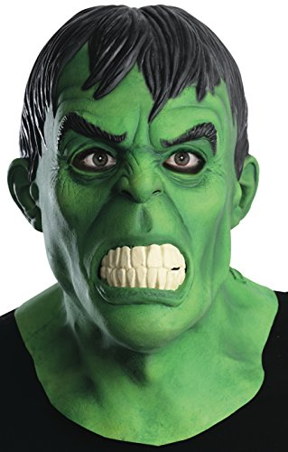 Rubie's Costume Men's Marvel Universe Adult Hulk Overhead Mask