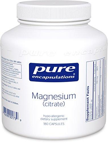Pure Encapsulations Magnesium - Citrate - 180 capsules