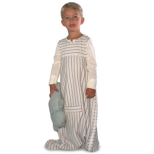 Merino Kids Baby Sleep Bag, Toddler 2-4 years, Winter-weight, Sandshell