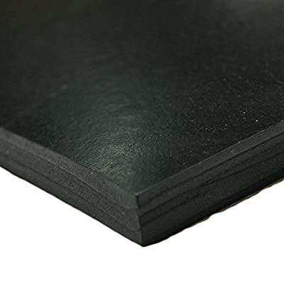 "Styrene Butadiene Rubber - (SBR) Rubber Sheet & Rolls - 1/16"" Thick"