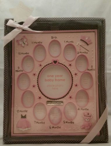 Nursery Rhyme One Year Baby Frame - 1