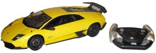 R/C 1:14 Lamborghini Murcielago LP670-4 SV Yellow-By Metro Fulfillment House