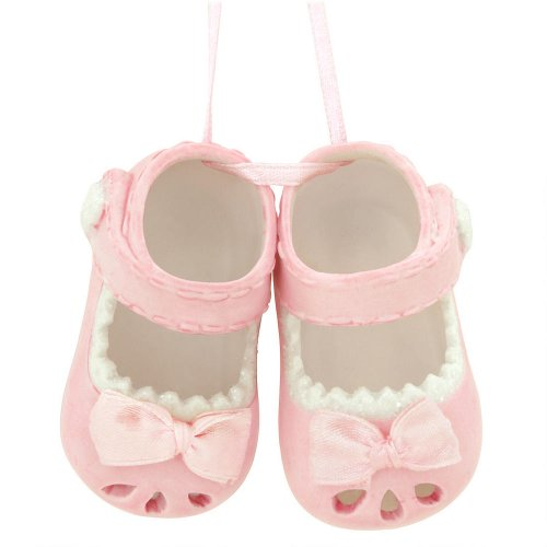 Baby Girl Shoes Christmas or Hanging Ornament