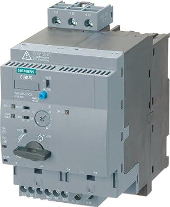 Siemens - 3RA6250-1DB32 - Magnetic Motor Starter, IEC, 24VAC, 3P, 12A