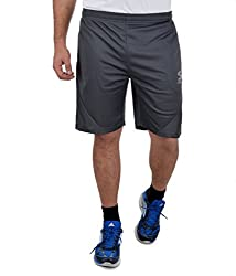 Surly Men's Dark Grey Polyester Short