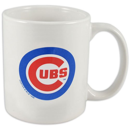 Chicago Cubs 11 oz. White Coffee Mug by Hunter at Amazon.com