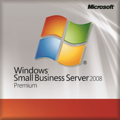Windows Small Business Server Premium 2008 w/SP2 English 1 Pack DSP OEI DVD 1-4CPU 5 Clt